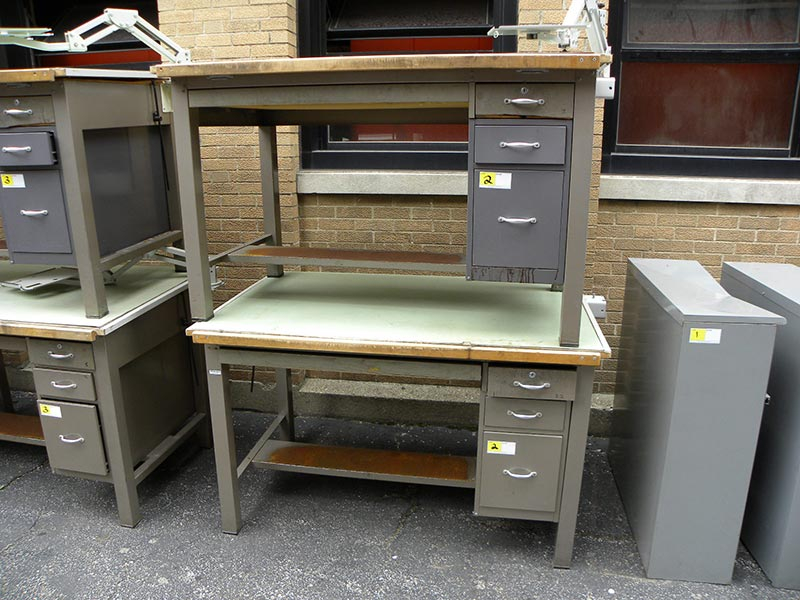 Superb Drafting Tables Lot 2 Alley